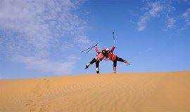 五一节4.28-5.1 库布齐沙漠轻装 黄河第一湾 老牛湾 户外休闲摄影深度游