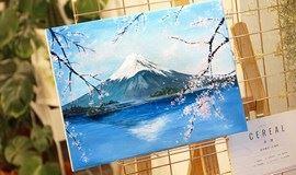 富士山下-零基础油画体验课