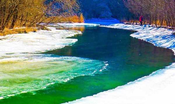 冬季必走经典路线-白河峡谷【让子弹飞小火车拍摄基地】云梦仙境看冰瀑