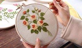 刺绣:一针一梦境,一线一世界——女神节手作DIY活动