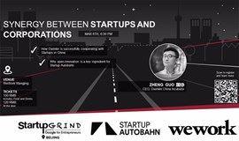 Synergy between startups and corporations | SG Beijing Hosts Zheng Guo (Daimler) | Mar 6th