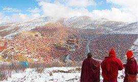 【川西·专线】成都+金川梨花+佛国色达+四姑娘山+丹巴藏寨6日游