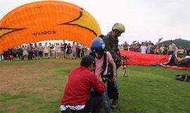 《飞行日记》实实在在体验飞翔感觉·东海滑翔伞·栲栳山徒步·植物辨识