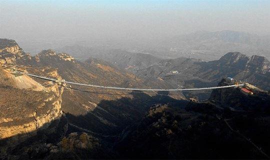 遇见之大美红崖谷+西柏坡超值两日游 世界最长玻璃吊桥等你来挑战