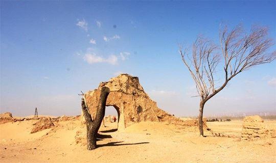 【清明一日】 《龙门飞甲拍摄地》天漠,品柳沟豆腐牛肚宴,永宁古城