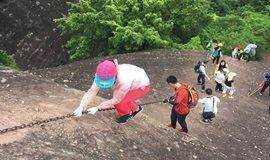 【周六.攀岩初体验】3.31日 徒步惠州马鞍山 穿越一线天 攀岩初体验【大众】