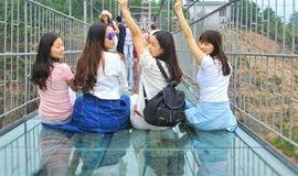 龙湖湾体验【特色破碎玻璃桥】【免门票】玩出玻璃界新高度