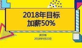 【猎聘·同道精英汇】2018年目标:加薪50%(武汉站)