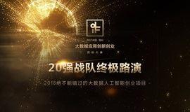 中国(苏州)大数据应用创新创业国际大赛决赛路演