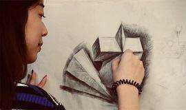 杉田画社 小清新的学绘画  学素描  谈人生 速写精彩