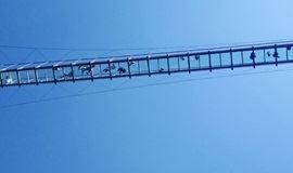 周六 · 特价十渡│仙西山玻璃栈道,龙湖湾破碎玻璃桥直通车!