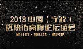 2018中国(宁波)区块链高峰论坛盛会