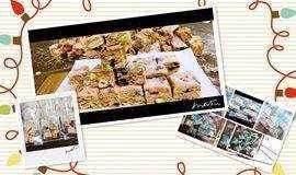 做出高颜质的点心,献给爱健康美食的自己,台湾来的雪花酥点心教学