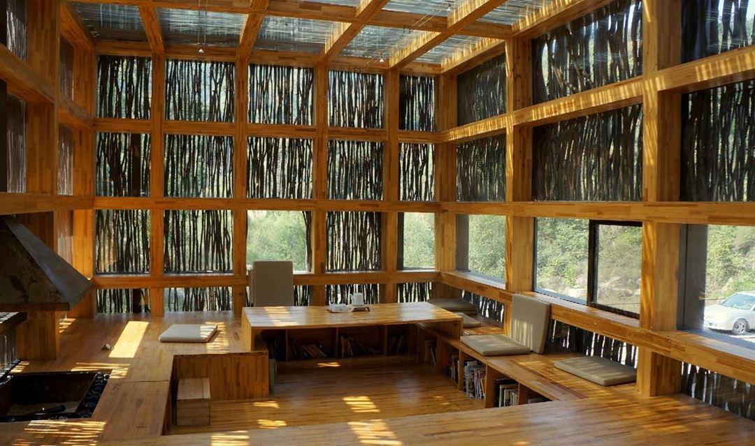 【踏青周末一日】】神堂峪栈道+篱苑书屋(包场),最有创意的图书馆,有山有水有美女