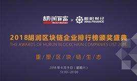 2018胡润区块链企业排行榜邀请函