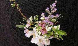 AS. Flower鲜花吊坠DIY(含项链)