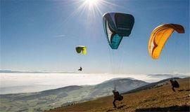 第十二期 | 像风一样自由:滑翔伞体验+徒步+自驾