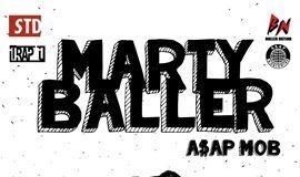 【国际嘻哈巨星说唱团队】A$AP MOB-MARTY BALLER广州站
