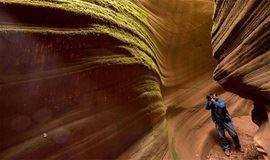 中秋9月21-23号 靖边龙洲丹霞,甘泉雨岔大峡谷,延安,纯玩休闲摄影,代购往返火车票