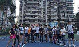 深圳网球培训 网球初级无太阳凉爽活动