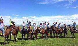 五一假期 坝上草原 骑马 免费烤全羊 大汉行宫 闪电湖 篝火狂欢!