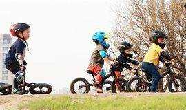 纯正欧美范儿单车运动,春暖花开快带宝贝动起来!