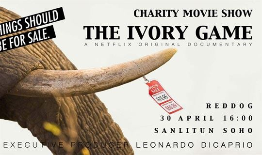 CHARITY MOVIE SHOW - THE IVORY GAME ( executive producer Leonardo Dicaprio)