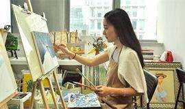 【油画体验】我和油画有个约绘