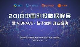 V SPACE·桔子空间:2018中国创投数据峰会