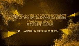 第三届中国-新加坡创富高峰论坛