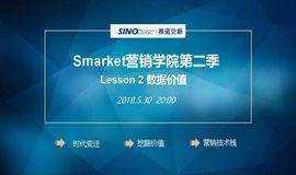 Smarket营销学院第二季:Lesson 2 数据价值