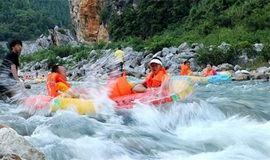 清远笔架山峡谷猛士漂流、激情水战、千谷溪探险