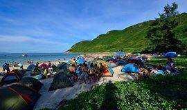 深圳周边丨三门岛冲浪露营、看日出、登海誓山盟峰【每周六出发】