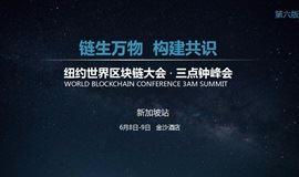 纽约世界区块链大会三点钟峰会(新加坡站)