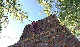 [05.27 周日]攀岩初体验+撕名牌,这周我们走运动风