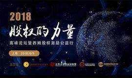 2018股权的力量高峰论坛暨西姆股权激励公益行——上海站