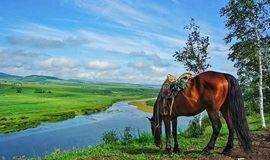 2018呼伦贝尔大草原, 经典北线穿越草原行,驾驭纯种蒙古马, 探访华俄后裔6日行
