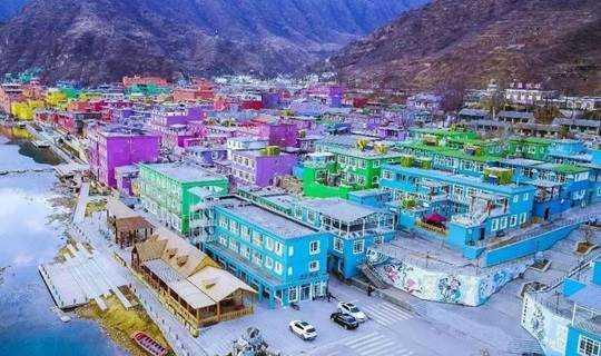 百里峡七彩艺术小镇 探秘野三坡大峡谷 户外徒步休闲旅行