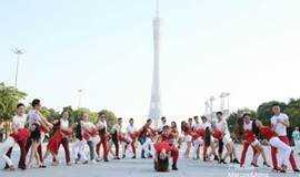周日快闪舞蹈活动.巴西Zouk祖克舞全球快闪广州站.100个国家同心同舞.