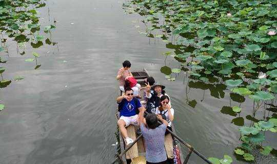 【悠游水乡】6.24 船游古劳水乡.夏日荷花别样红.漫步逢简水乡