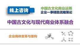 【中国古文化商业运筹:企业一事精致战略策论咨询】企业商体变革与重构
