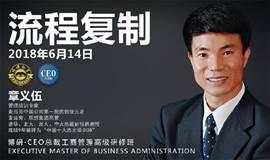 【博研·总裁班】管理培训专家章义伍老师《流程复制》