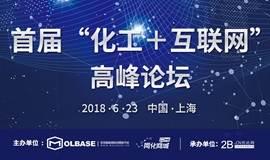 """首届""""化工+互联网""""B2B行业高峰论坛"""