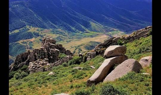 第四世纪冰川遗址体验高山海拔避暑胜地之醉美冰山梁摄影、扎营、看日出