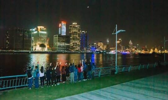 7.25魔都悦跑团,跑出滨江大道靓丽的风景线