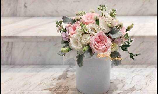 韩式花桶之约•Ashley's Garden花艺沙龙