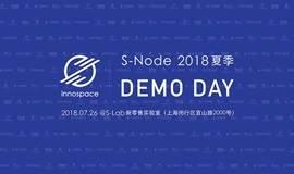 2018夏季S-Node Demo Day