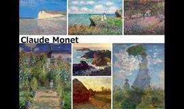 莫奈的花园—画作鉴赏与零基础油画创作