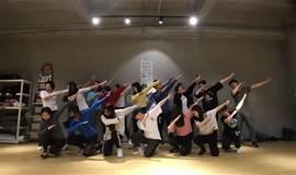 8月迷波隆残舞社舞蹈课:再次跳欧美性感风好不好?