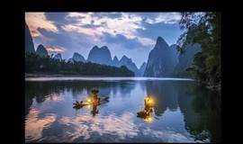 每周二周五出发游阳朔山水、西街艳遇、20元人民币背景漓江468元